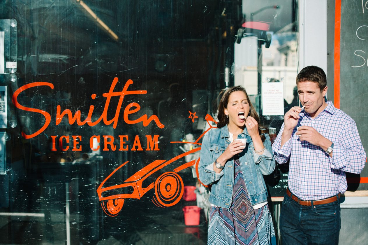 Smitten Ice Cream Fillmore hayes valley | smitten ice cream