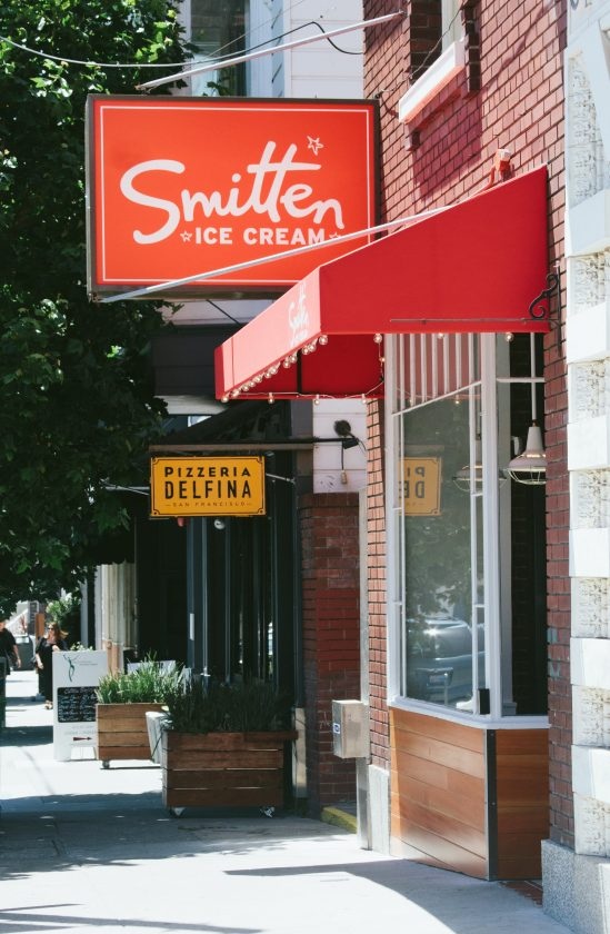 Smitten Ice Cream Fillmore pacific heights | smitten ice cream